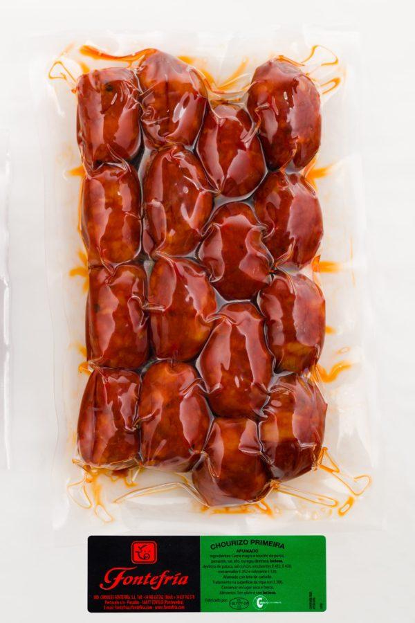 Chorizo pincho al vacío - Chourizo pincho ao baleiro